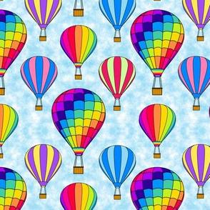 Hot Air Balloon Rainbow 2