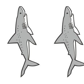Sharks Shark Plush Plushie Softie Cut & Sew