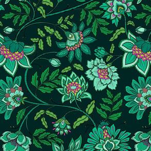 Indienne - Emerald