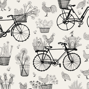 Bicycles for Africa pale horizon