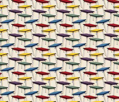 Formica Tables fabric by leventetladiscorde on Spoonflower - custom fabric