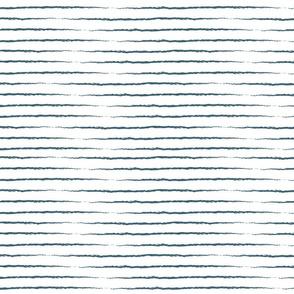 Summer Stripes - Navy Blue