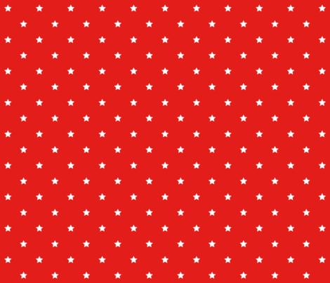 bright red stars E31D1A fabric by misstiina on Spoonflower - custom fabric