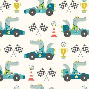Crocodile Race