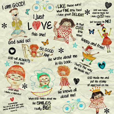 True Story -God Says I'm Good-girls and boys