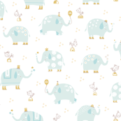 Elephants party