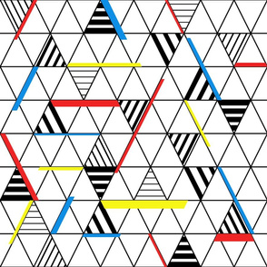 Triangles and stripes