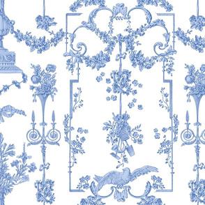 Pompadour Toile blueberry 3