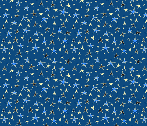 Dreamland Stars (Bedtime) fabric by brendazapotosky on Spoonflower - custom fabric
