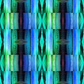 bamboo 9 marquetery stripes blue purple emerald