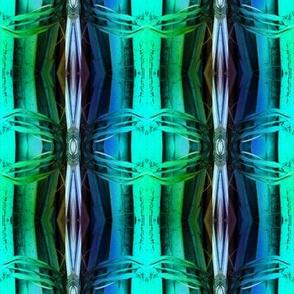 bamboo 12 stripes 2 blue purple emerald