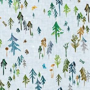 Pine Forest (emerald) MED