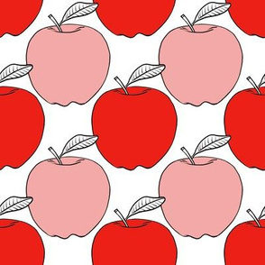 Pink and Red Apples