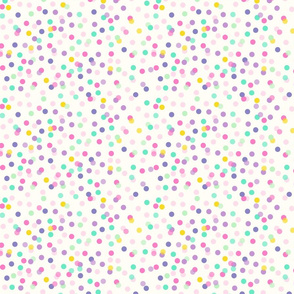birthday confetti dots // colorful