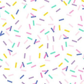 birthday confetti // colorful
