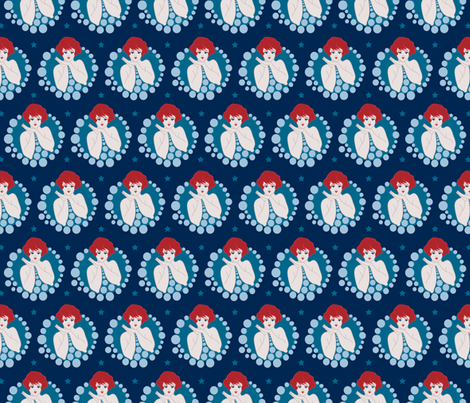 Bubblicious fabric by dearchickie on Spoonflower - custom fabric