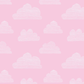 Stripy Clouds (pink)