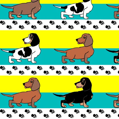 Rrrr1950s-style-assorted-dachshund-puppies-on-blue-and-yellow-stripe_shop_preview