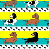 Rrrr1950s-style-assorted-dachshund-puppies-on-blue-and-yellow-stripe_shop_thumb