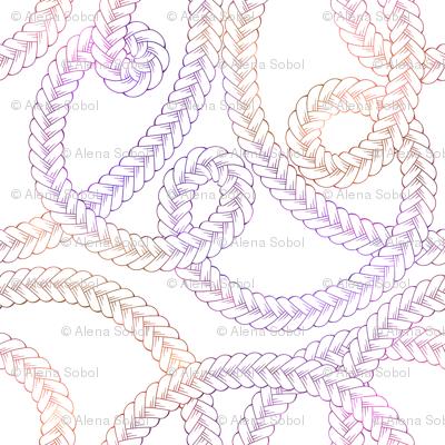 Tangle braids
