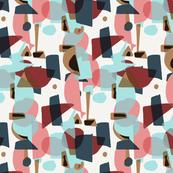 shapes by TAN HAUR 005 tile SpoonFL