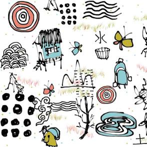 Tan Haur ink creation - pattern 030-tile-SpoonFL