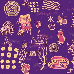 Tan Haur ink creation - pattern 050-tile SpponFL