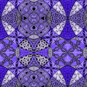 Patchwork lilac