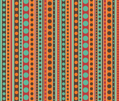 strips and circles fabric by tatyana_okhitina on Spoonflower - custom fabric