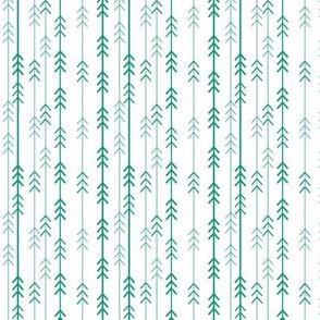 tiny emerald trees