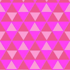 Pattern Pink Triforce