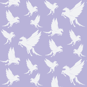 Flock of Pegasus on Lavender