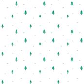 minimal emerald forest
