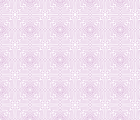 pink ornament  fabric by klivenkova on Spoonflower - custom fabric