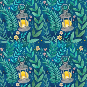 pattern_magical_emerald_forest_2_vierelementenpatroon
