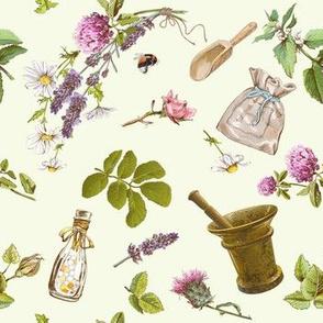 Herbs & mortar