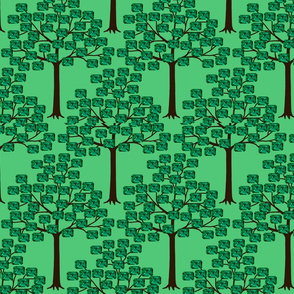 emerald forest trimmed