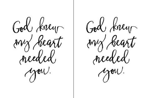 2 per yard of minky // God Knew My Heart Needed You  fabric by ivieclothco on Spoonflower - custom fabric