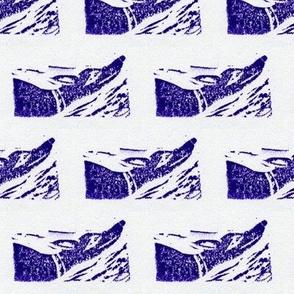 """Doggy freedom blockprint Martingale 2"""" (orig)"""