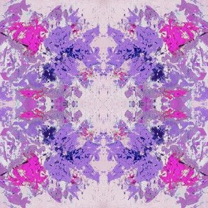 Boho Hippie Lilac Purple Rain