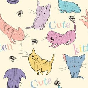 Little cats pattern