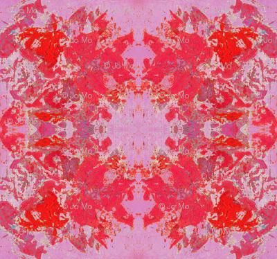 Boho Hippie Poppy and Pink