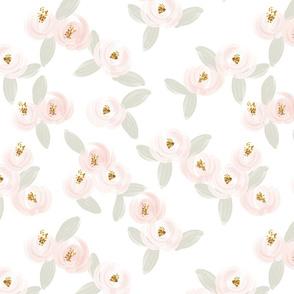 pink rosette // medium