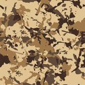 Beige Desert Military Camouflage