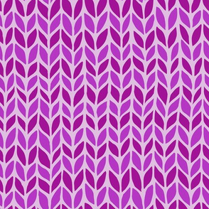 violet horizontal stripped knit pattern