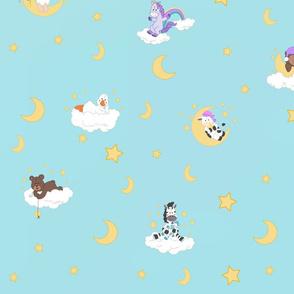 Baby animals sky dreams