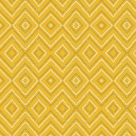 golden diamonds fabric by farreystudio on Spoonflower - custom fabric