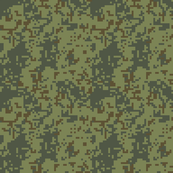 Green Military Pixel Camo like Game