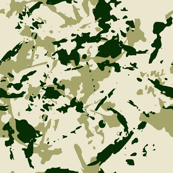 Green forest Camouflage. Camo Spots