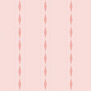 Queen of Diamonds Stripe: Rose Gold Stripes